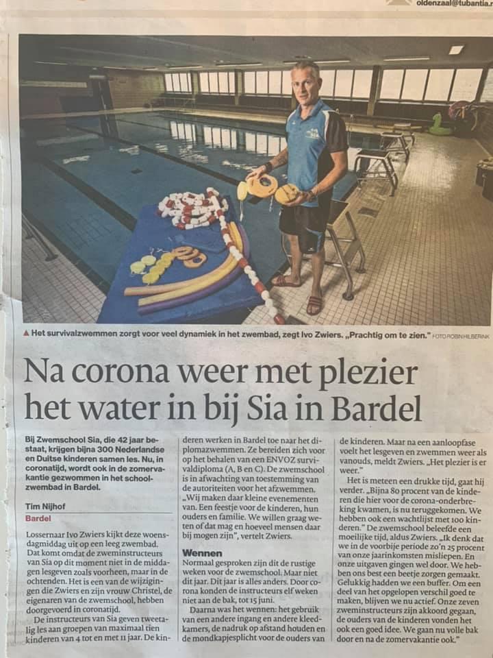 Artikel aus der Zeitung