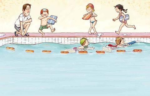 Zwemlessen Dinsdag